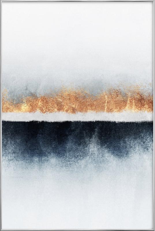 Horizon Poster in Aluminium Frame