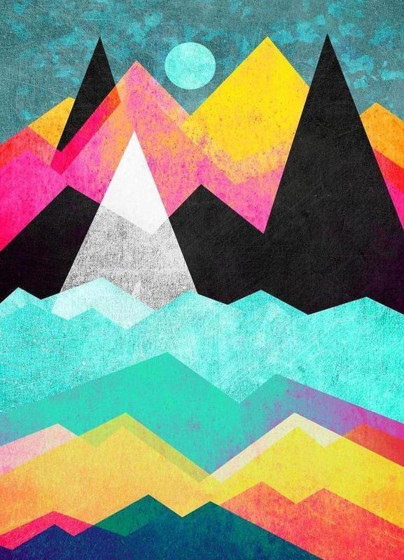 Candyland canvas doek