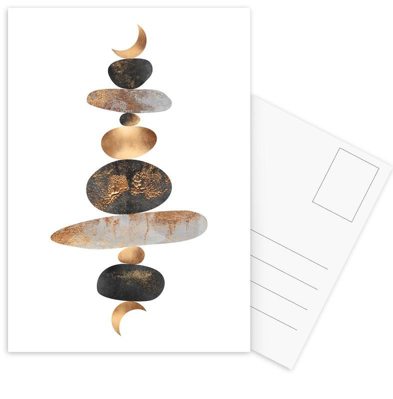 Moon Balance -Postkartenset