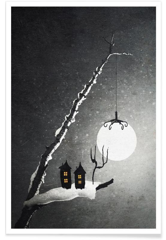 , Winter Night affiche