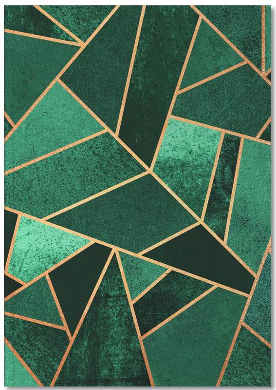 Emerald and Copper Notebook