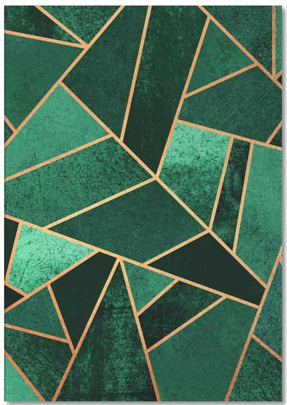 Emerald and Copper Notepad