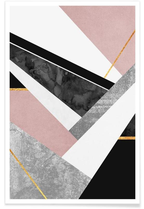 , Lines & Layers Poster