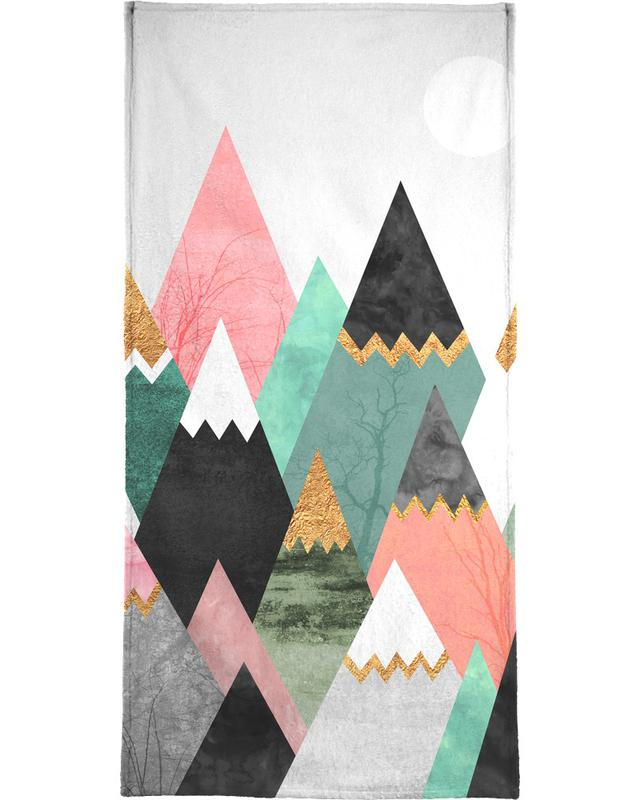 Abstract Landscapes, Pretty Mountains Beach Towel