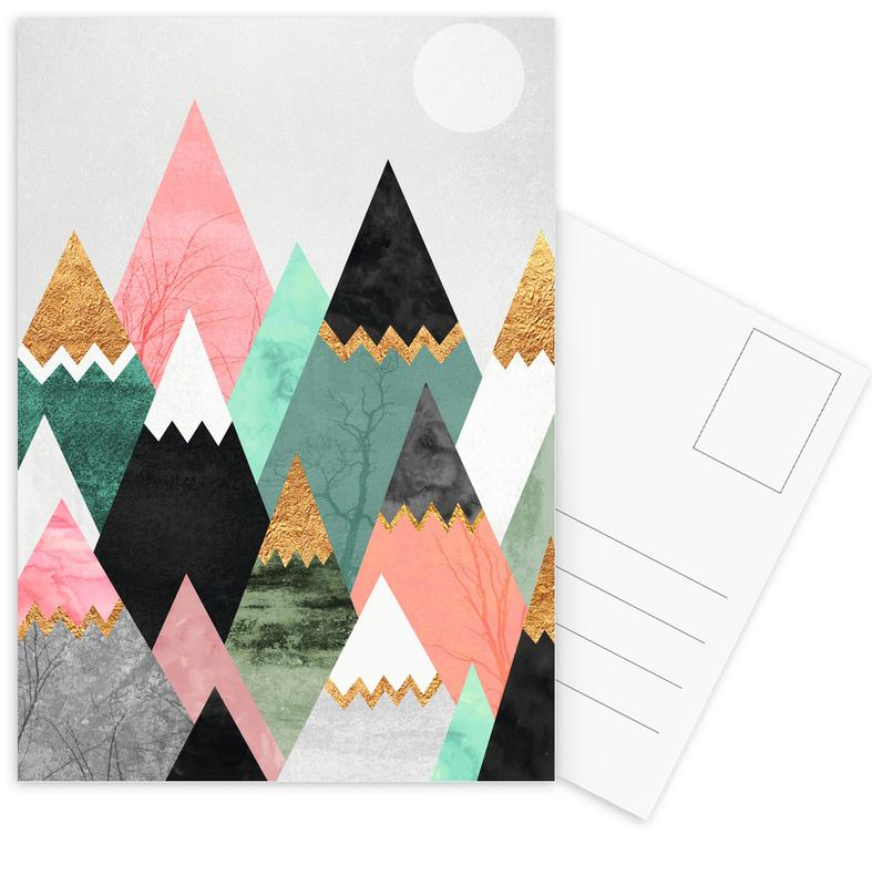 Pretty Mountains -Postkartenset