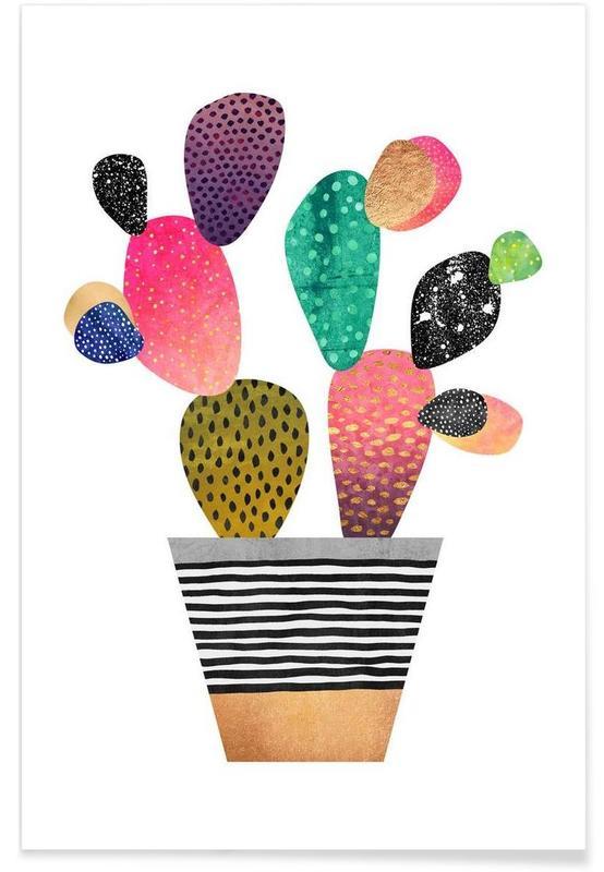 Cacti, Happy Cactus Poster