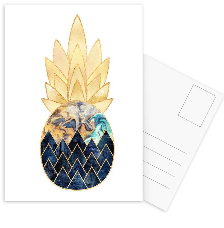 Pineapples, Precious Pineapple 1 Postcard Set