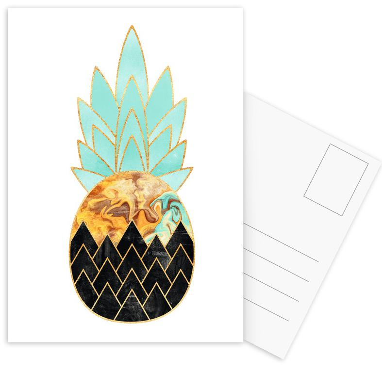 Pineapples, Precious Pineapple 3 Postcard Set