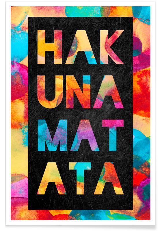 Hakuna Matata 1 Poster