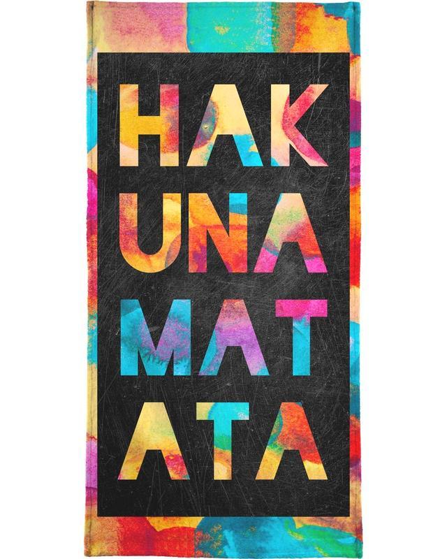 Hakuna Matata 1 -Handtuch