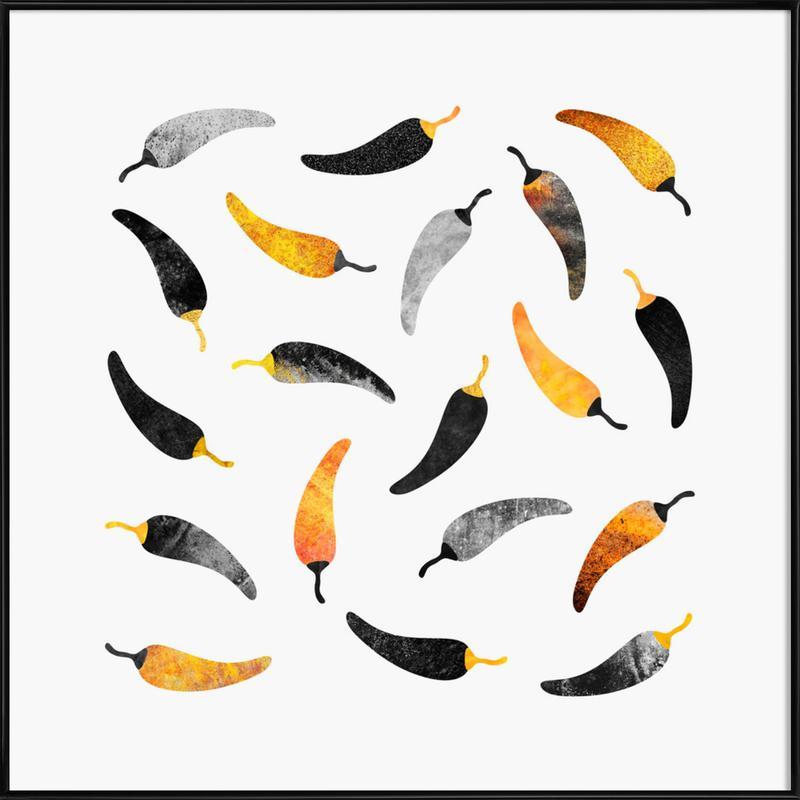 Chilli Peppers Framed Poster