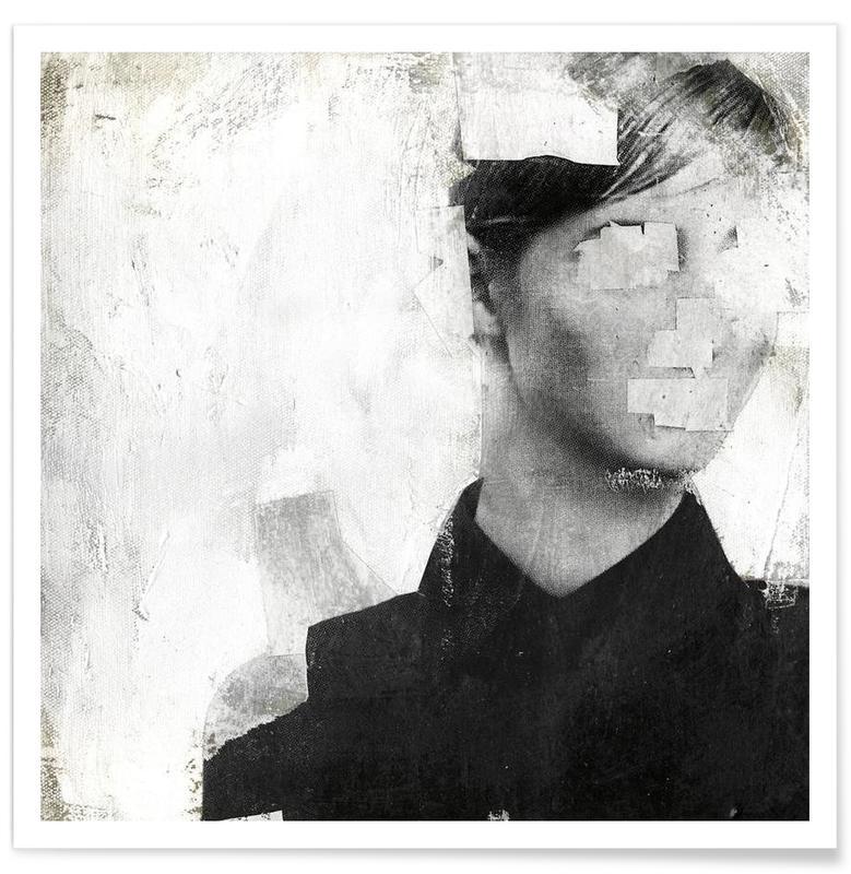 Noir & blanc, Faceless 01 affiche