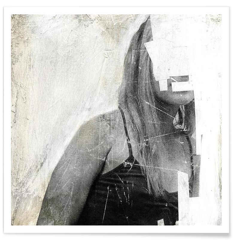 Noir & blanc, Faceless 03 affiche