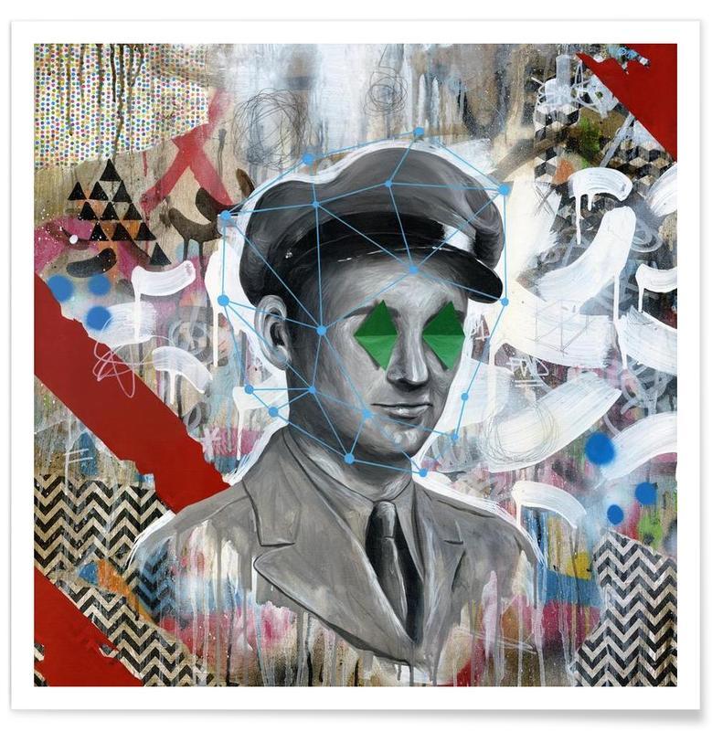 Street Art, Forgotten Soldier affiche
