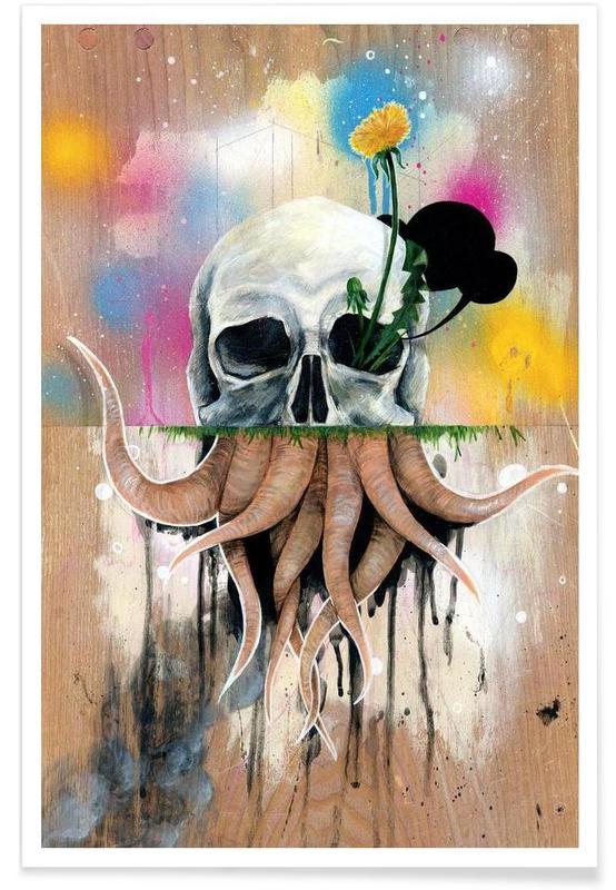 Skull Roots affiche