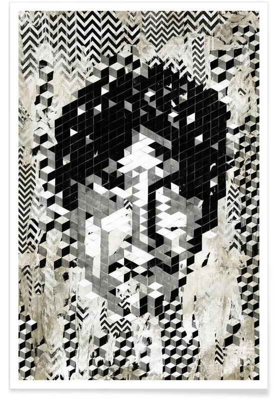 , Cube Head affiche