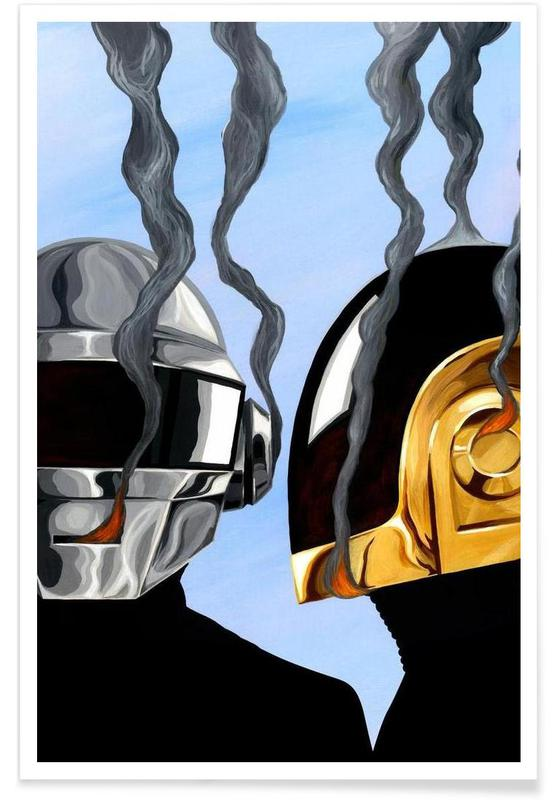Daft Punk, Daft Punk Deux affiche