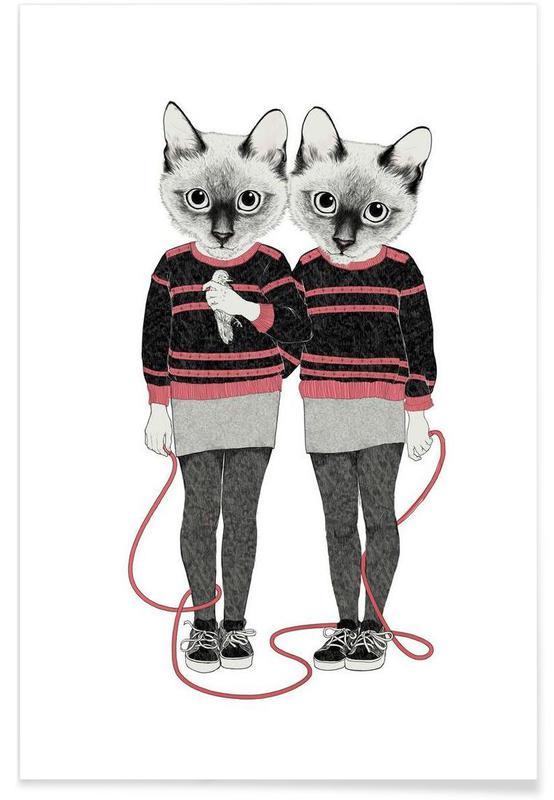 Créatures et hybrides, Siames Twins affiche