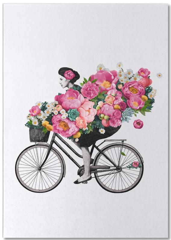 Floral bloc-notes