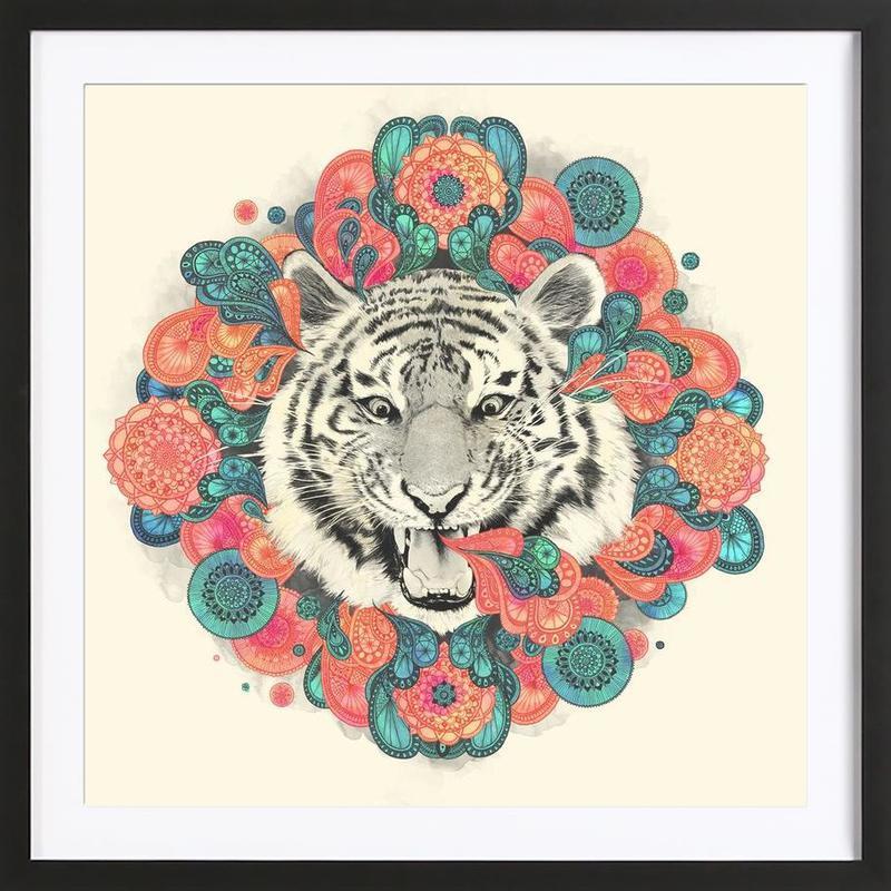 Bengal Mandala Framed Print