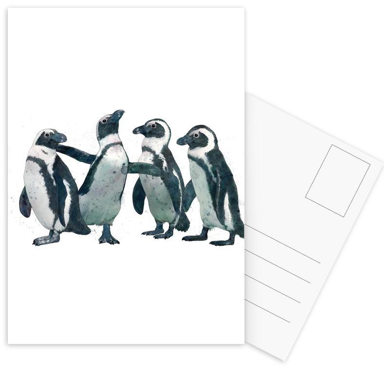Penguins cartes postales