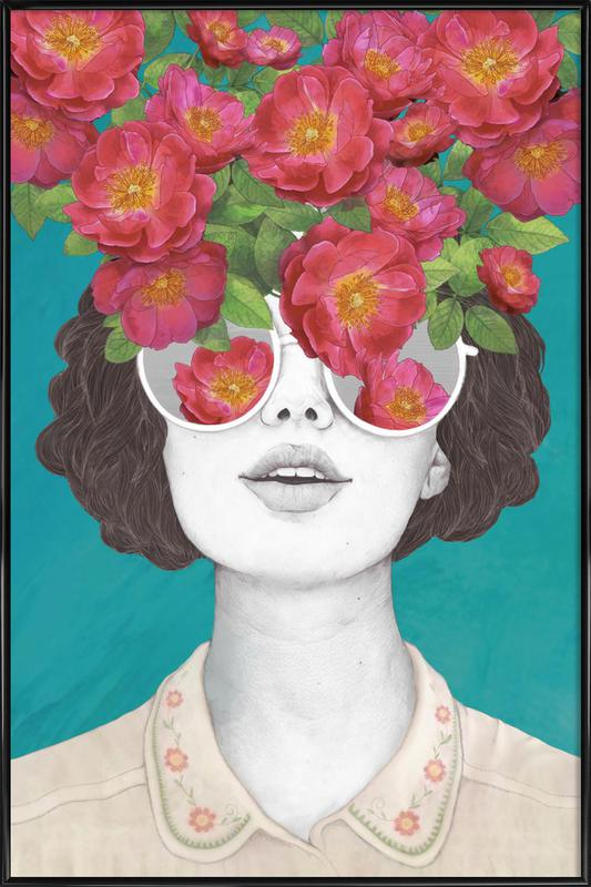 Rose Tinted Framed Poster