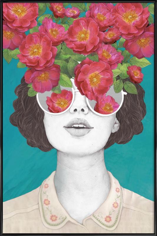 Rose Tinted ingelijste poster