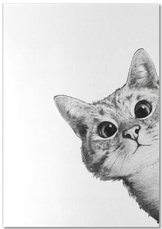 Sneaky Cat -Notizblock