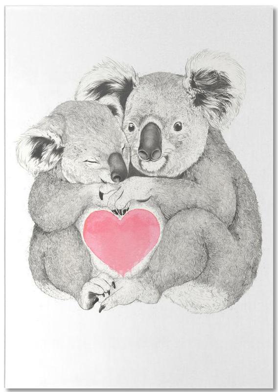 Koala -Notizblock