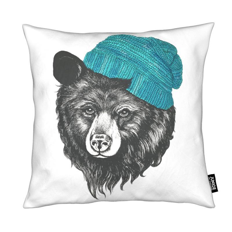 Bären, Kinderzimmer & Kunst für Kinder, Bear Blue
