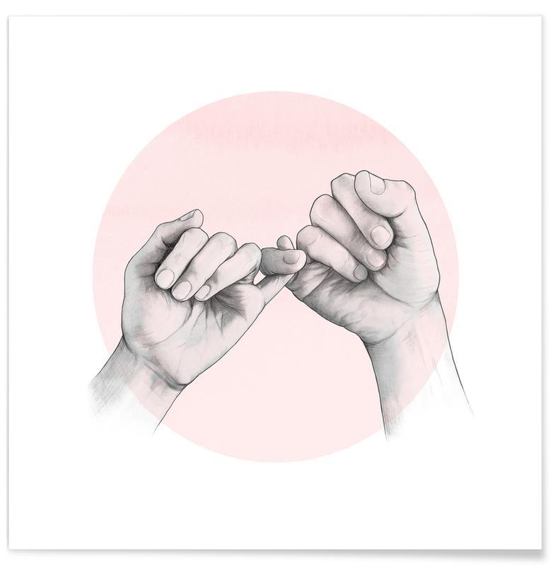 Body close-ups, Pinky Swear poster