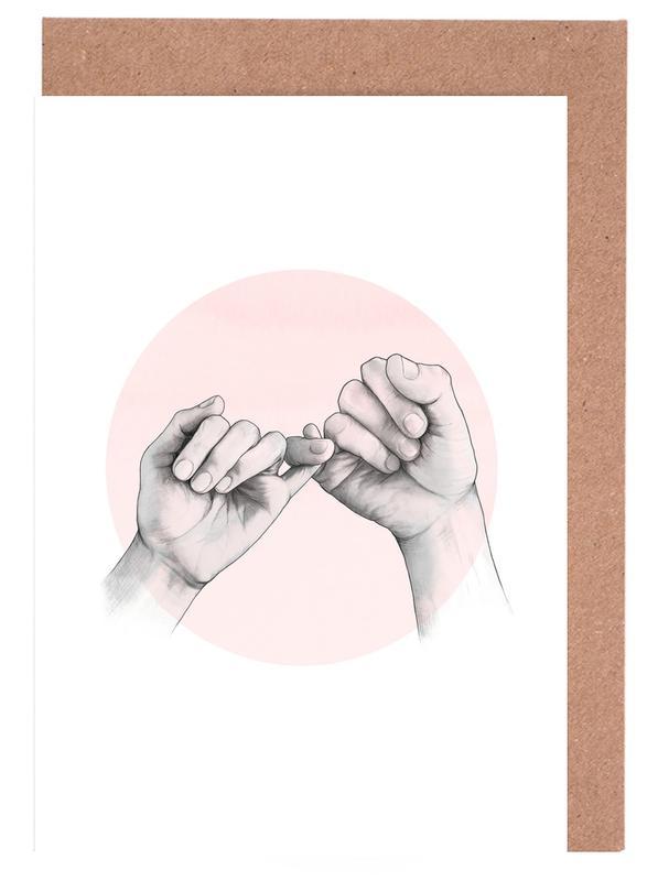 Pinky Swear -Grußkarten-Set