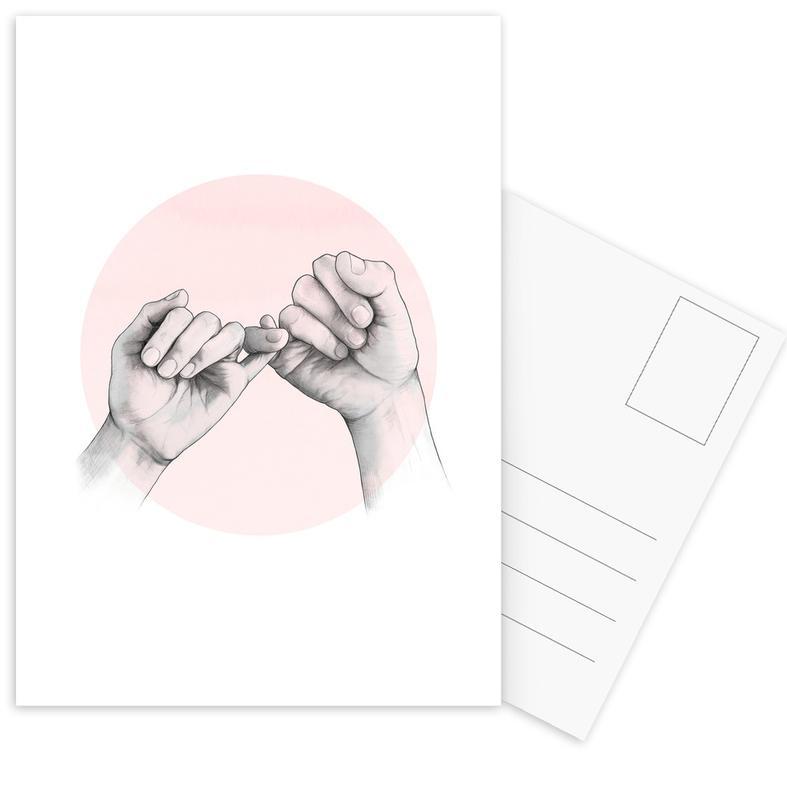 Pinky Swear -Postkartenset