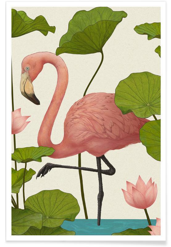 Flamingo's, Flamingo poster