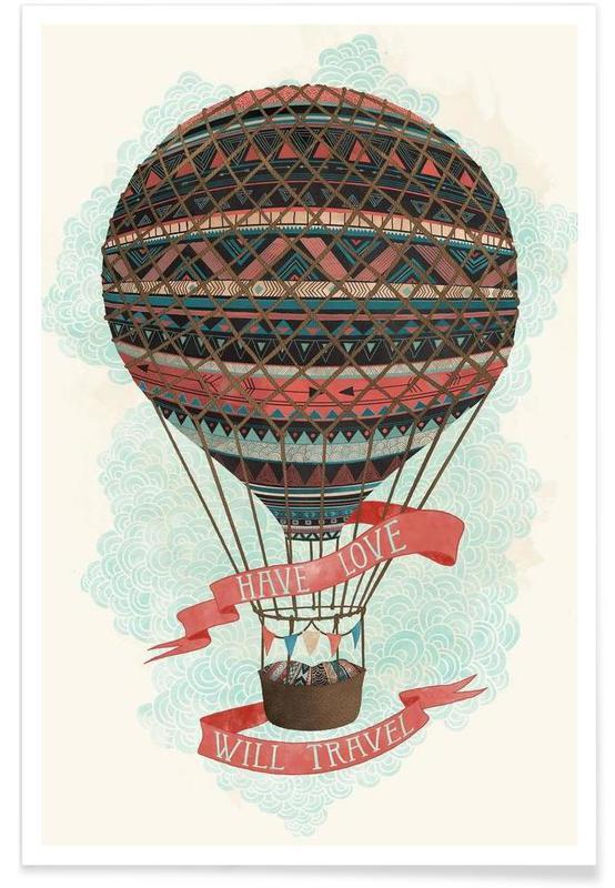 Rejser, Have love, will travel Plakat