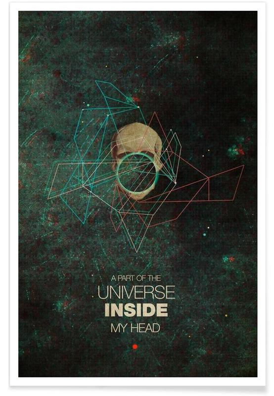 A Part Of The Universe Inside My Head Poster