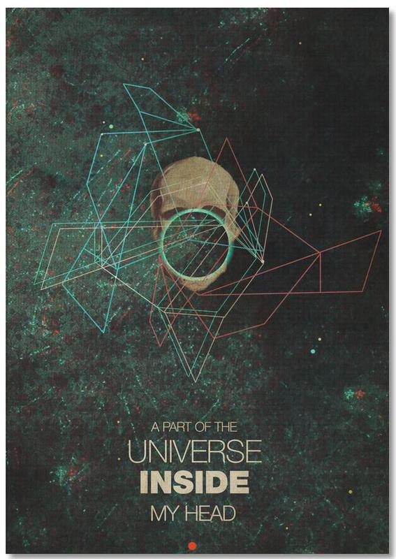 A Part Of The Universe Inside My Head Notebook