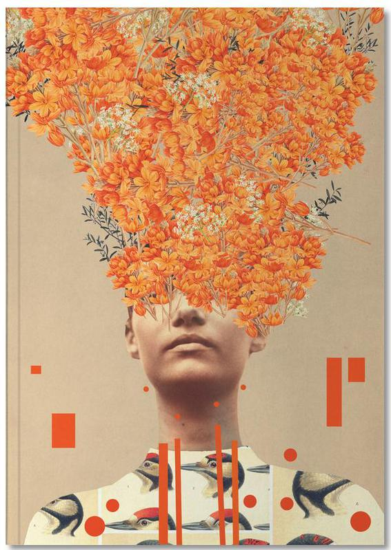 Skylines, Raumschiffe & Raketen, Valentinstag, Abstrakte Landschaften, Paare, Wälder, Bird Flight In Autumn Notebook