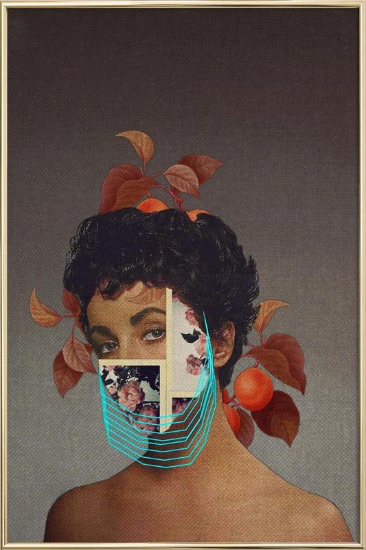 Zed -Poster im Alurahmen