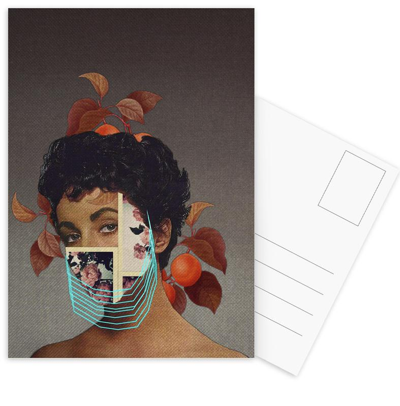 Portraits, Zed Postcard Set