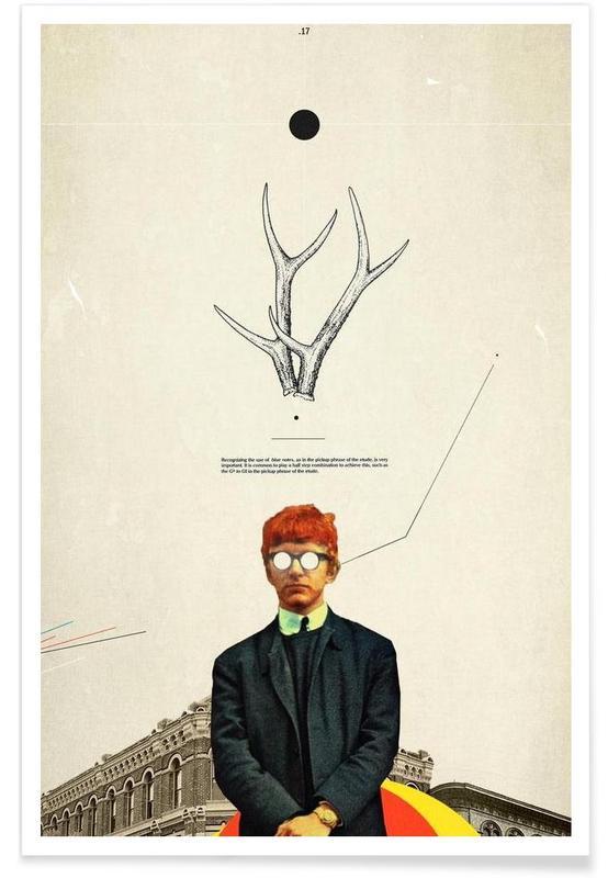 Bright Posture Poster