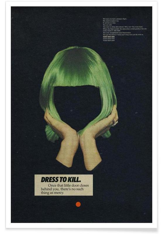 Retro, Dress to Kill -Poster