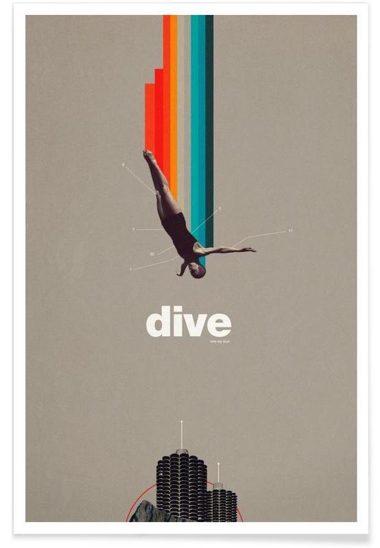 Retro, Dive Into My Soul Poster
