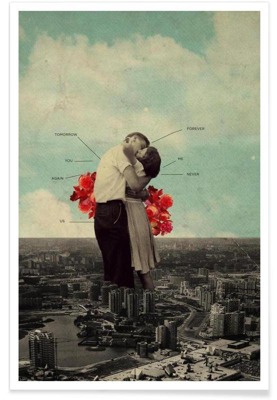 Couples, Retro, Never Forever Poster