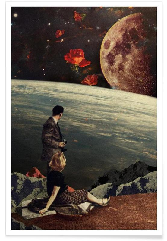 Retro, The Roses Came -Poster