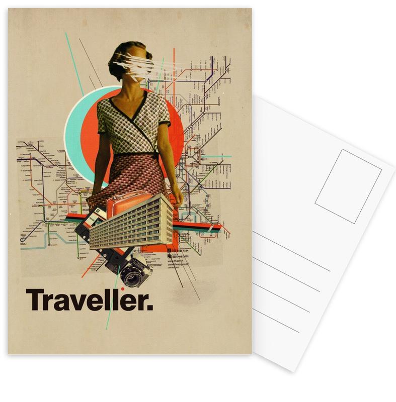 Traveller -Postkartenset