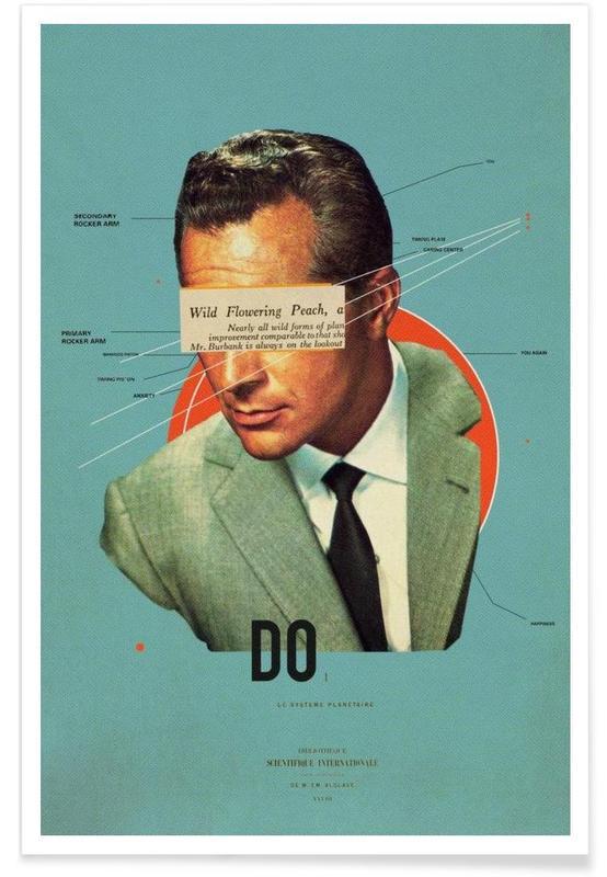 Motivation, Retro, Porträts, Do -Poster