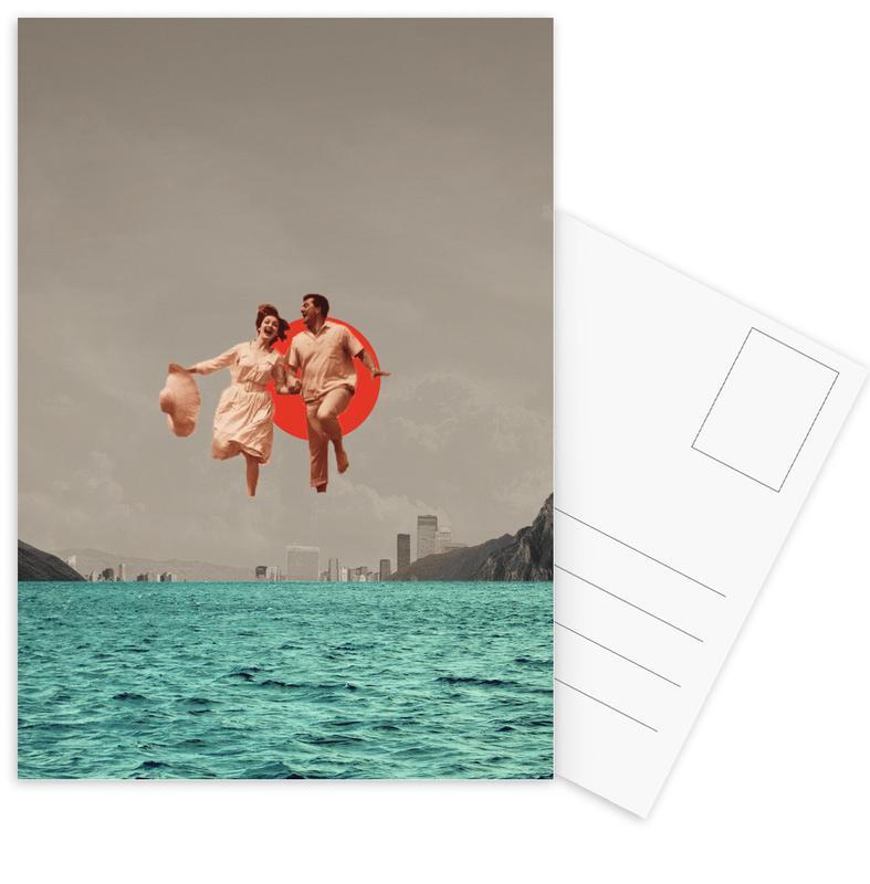 Don't Look Back -Postkartenset