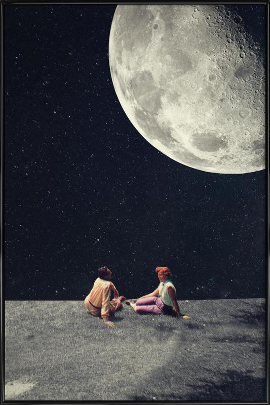 I Gave You The Moon For A Smile Framed Poster