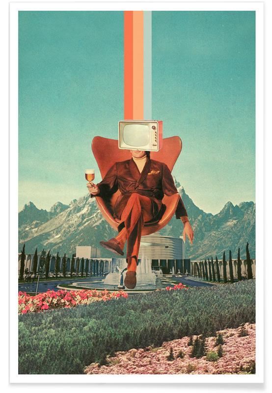 Wälder, Raumschiffe & Raketen, Skylines, Paare, Valentinstag, Abstrakte Landschaften, Enemy -Poster